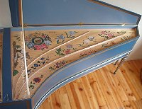 French harpsichord built by Robert D. Vollbehr