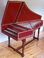 Harpsichord built by Robert D. Vollbehr